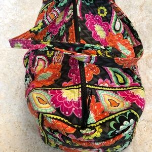 Vera Bradley Ziggy Zinnia large duffle bag